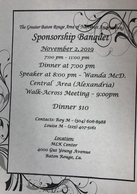 Sponsorship Banquet