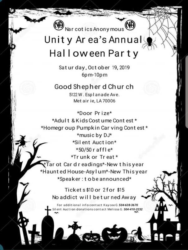 Unity Area's Halloween Party